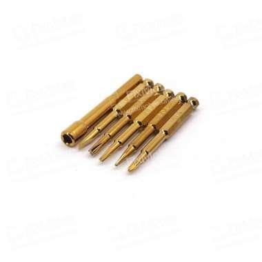 Отвертка с насадками Mechanic AK669 6шт+удлинитель — 2